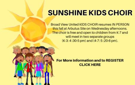 Sunshine Kid's Choir